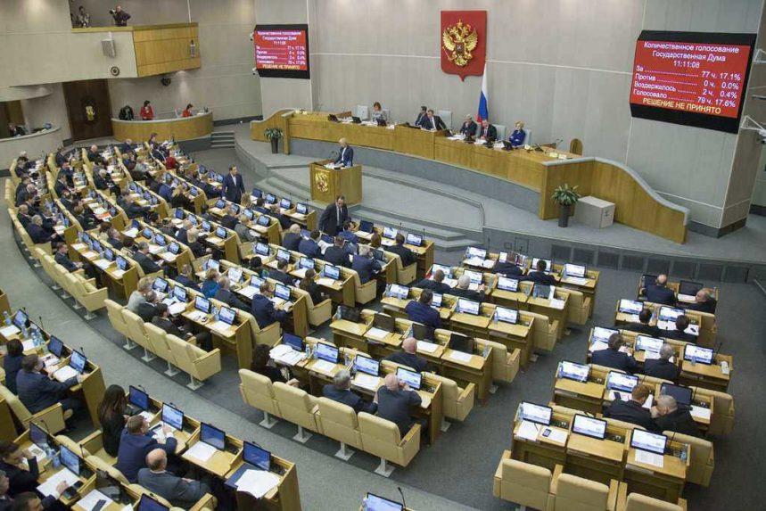 Víťazom ruských volieb je podľa prvých odhadov Jednotné Rusko