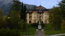 Grandhotel Starý Smokovec vo Vysokých Tatrách.
