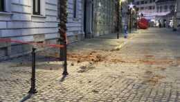Chorvátsko zasiahlo zemetrasenie