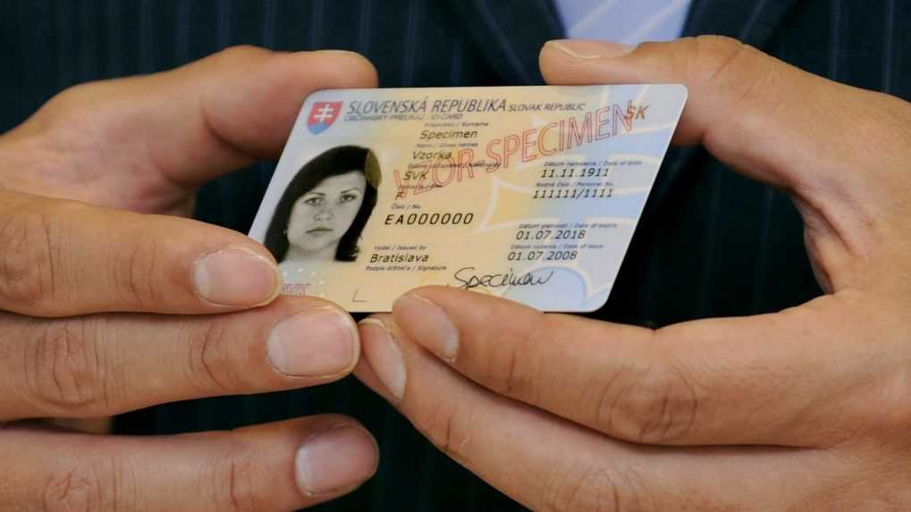 Občianske preukazy, ktorým uplynula platnosť, používa takmer 35 000 Slovákov