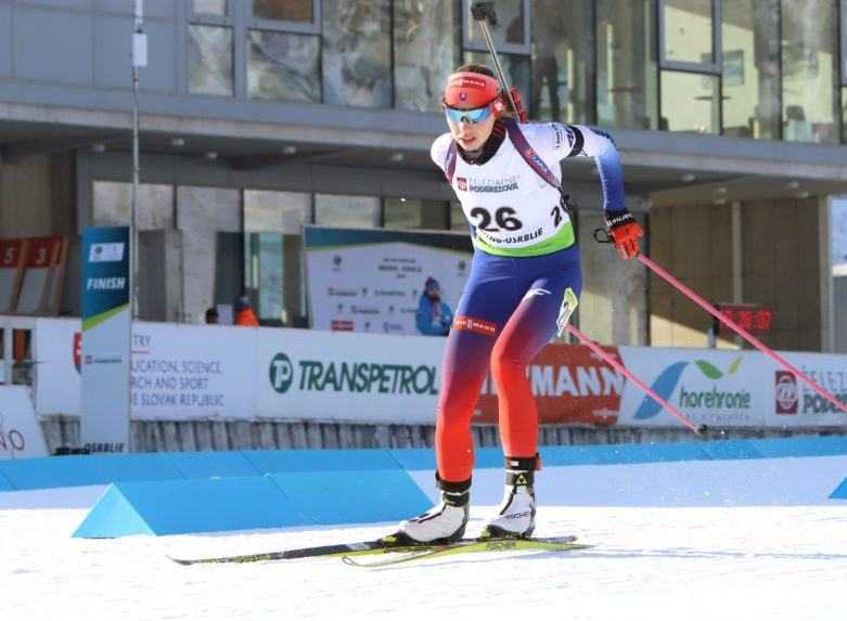 Ďalšia medaila. Horvátová je biatlonovou vicemajsterkou sveta