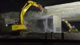Na Liptove zbúrali diaľničný most, bol v zlom technickom stave