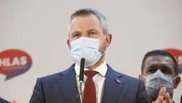 Predseda strany Hlas-SD Peter Pellegrini.