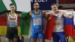 Volko vybojoval na halových ME pre Slovensko bronzovú medailu