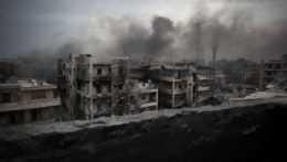 Pri delostreleckom útoku sýrskych vládnych jednotiek zahynulo osem ľudí vrátane šiestich detí