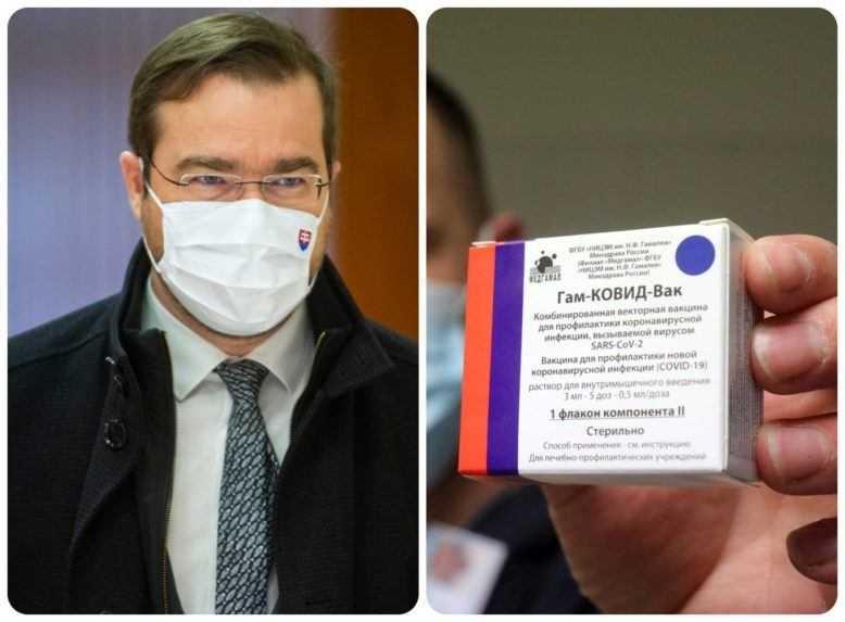 Krajčí prezradil, kedy by sa na Slovensku mohlo začať očkovať Sputnikom V