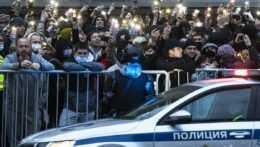 Ruská polícia zatkla viac ako 1700 ľudí, ktorí demonštrovali za Navaľného
