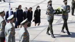 Slovenskí politici si pripomenuli výročie konca druhej svetovej vojny