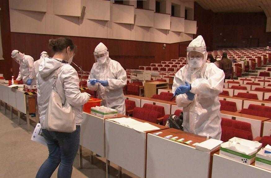 Bezplatné testovanie v Košiciach ukončili: Protilátky proti covidu mala štvrtina záujemcov
