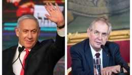 """""""Ďakujem, výborný priateľ!"""" Netanjahu ocenil Zemanovu podporu Izraela"""