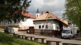 Rodný dom Štúra a Dubčeka má po rokoch novú strechu