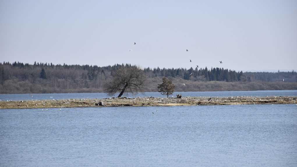 Ministerstvo životného prostredia nepodporí výstavbu ostrova na Oravskej priehrade