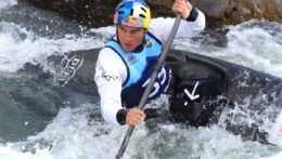 Jakub Grigar-vodný slalom