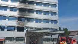 V košickej nemocnici horelo, na mieste bol aj premiér Heger