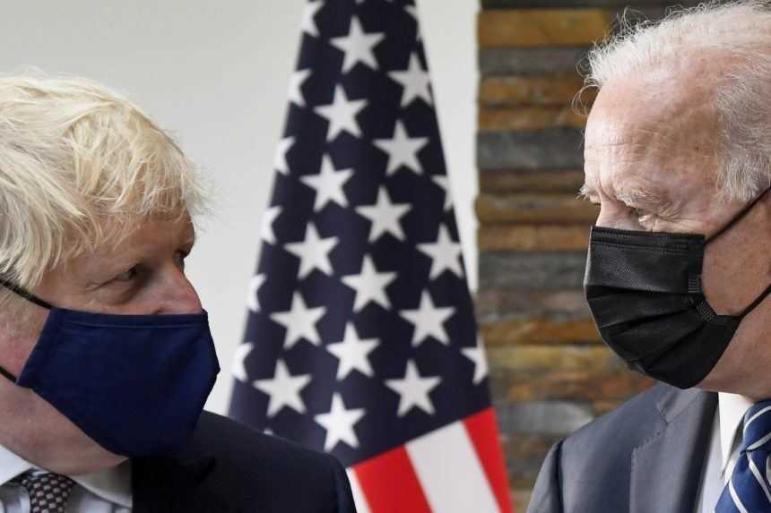 Biden a Johnson podpísali novú Atlantickú chartu, chcú chrániť trvalé hodnoty