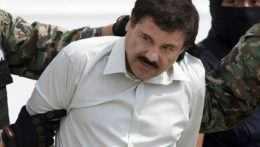 Na snímke je zadržaný narkobarón Joaquín Guzmán.