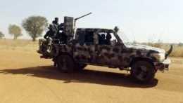 nigérijská armáda