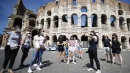 Koloseum-koronavírus
