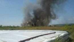 V Budmericiach horí skládka chemického odpadu