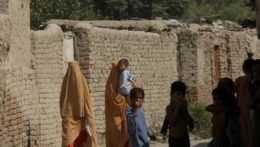 Ženy a deti v Afganistane.