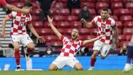 Zápas Chorvátsko - Škótsko na EURO 2020.