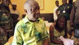 Exprezident Pobrežia Slonoviny Laurent Gbagbo.