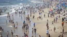 Kalifornská pláž.