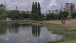 Na ilustračnej snímke košické jazero.