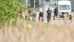 Útok v meste London v Kanade