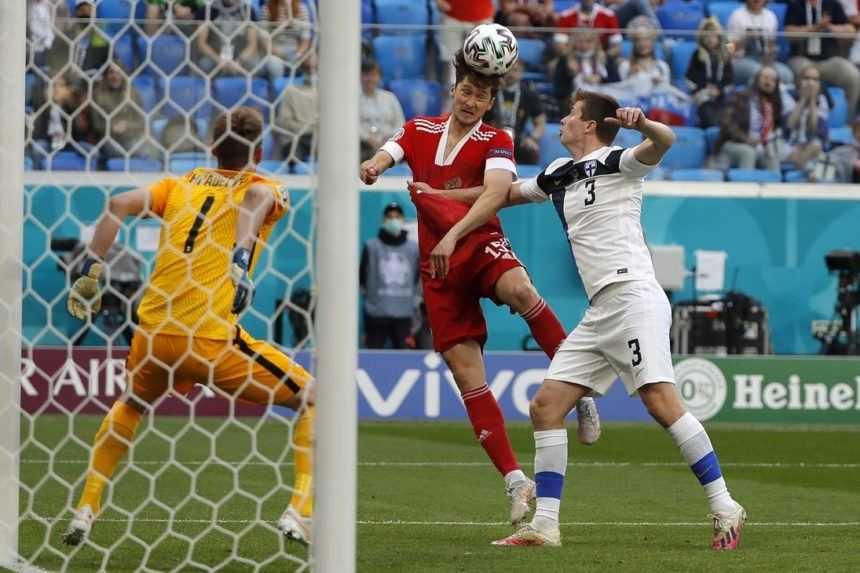ME vo futbale: Rusi sa natrápili s Fínmi, zdolali ich najtesnejším rozdielom
