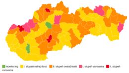 regionálna mapa