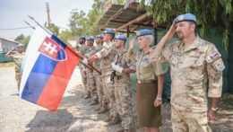Slovenskí vojaci v misii na Cypre.