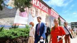 očkovacie centrum v Banskej Bystrici