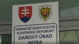 Daňový úrad Nitra.