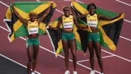 Jamajské šprintérky.