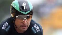 Peter Sagan na trati Tour de France.