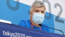 Lekár slovenských športovcov Roman Fano.
