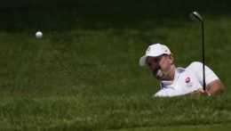 Rory Sabbatini počas súťaže v golfe.