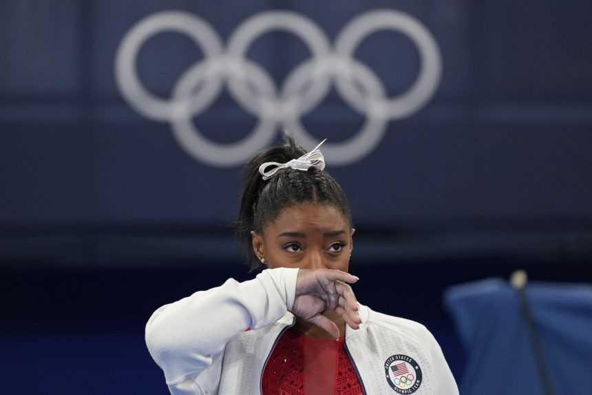 Simone Bilesová na olympiáde