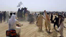 Prívrženci Talibanu.