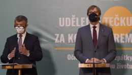 Andrej Babiš s Adam Vojtěch