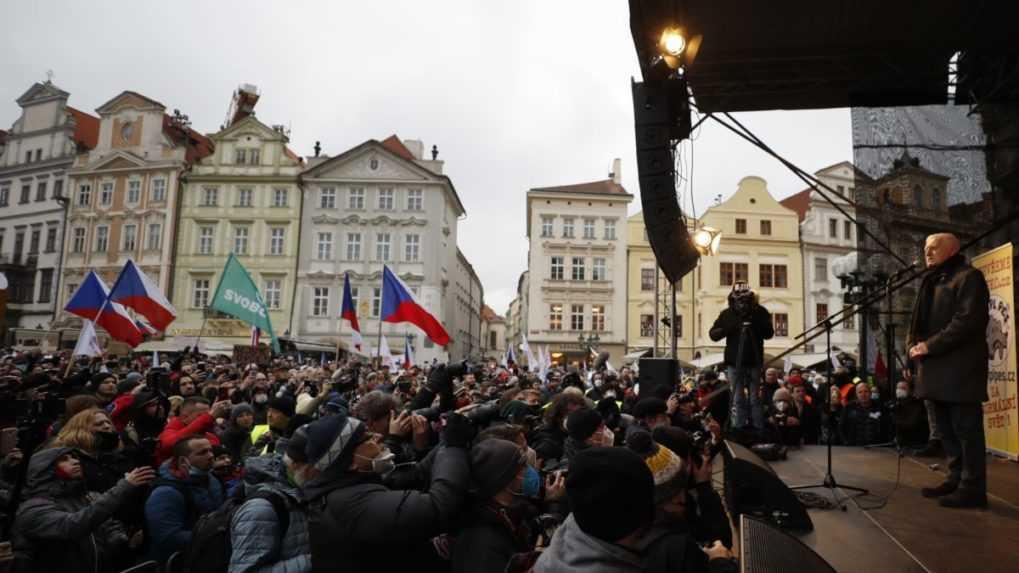 Za vystúpenie bez rúška dostal Václav Klaus pokutu 8 000 českých korún