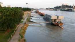 zvýšená hladina Dunaja