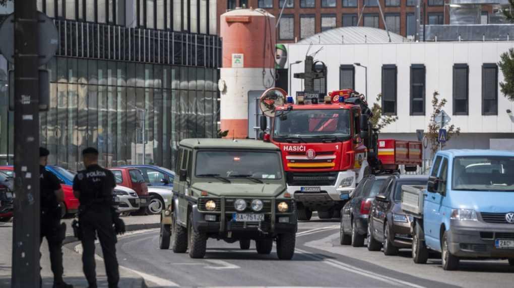 Leteckú bombu, ktorú našli v centre Bratislavy, bezpečne zneškodnili