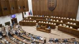 Schôdza parlamentu