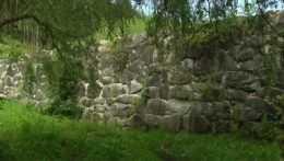 Vodná hrádza v obci Pohorelá
