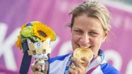 ehák Štefečeková získala zlatú medailu v trape