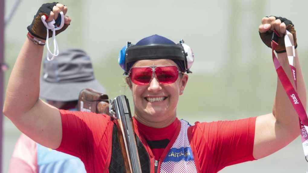 Suverénna Rehák Štefečeková utvorila svetový rekord a postúpila do finále trapu