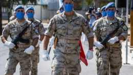 Slovenskí vojaci na Cypre.