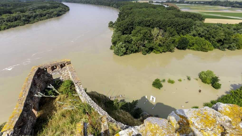 Nedávne zrážky v Nemecku a Rakúsku nemajú vplyv na hladinu Dunaja, tvrdí SHMÚ